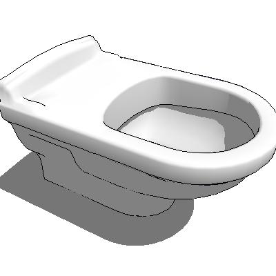 WC Homage VB 3D Model - FormFonts 3D Models & Textures