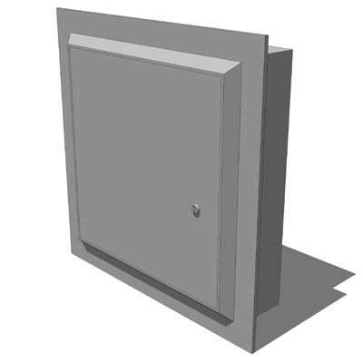 Nystrom Access Door Nt1212 3d Model Formfonts 3d Models Textures