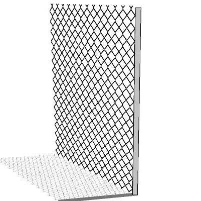 Chainlink Fence 3d Model Formfonts 3d Models Amp Textures