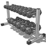 Dumbell stand