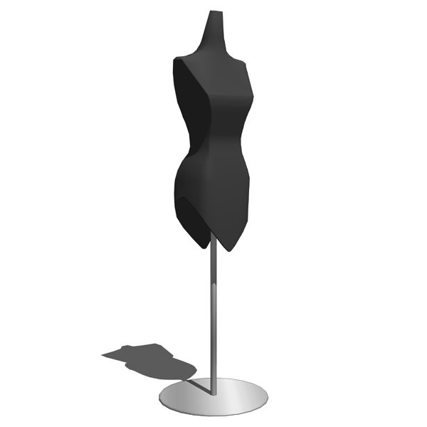 Retail mannequin 3D Model - FormFonts 3D Models & Textures