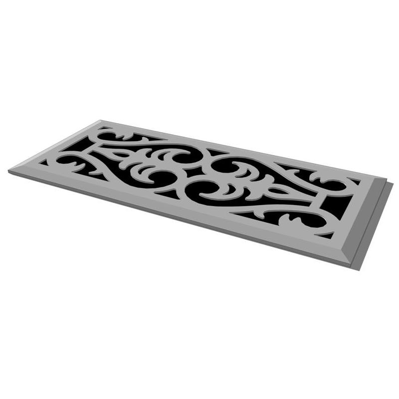 Heat register covers 3d model formfonts 3d models textures for Floor register covers