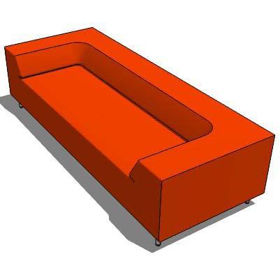 Easy Block Sofa 3d Model Formfonts 3d Models Textures