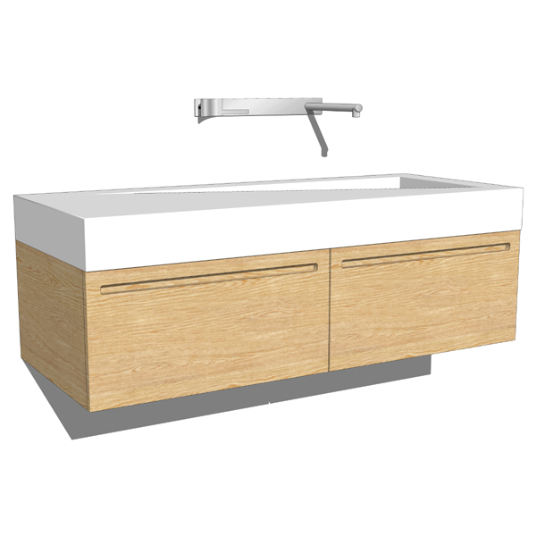 Boffi Folio washbasin. Comes in different combinat....