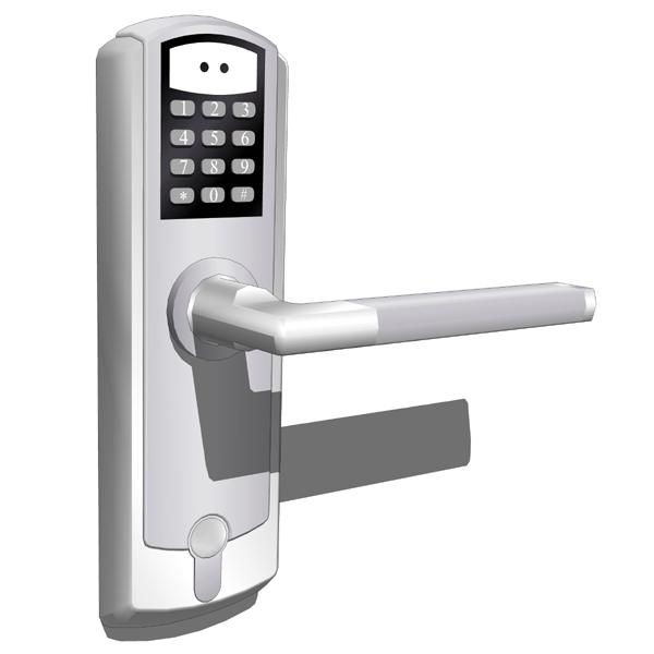Interior Keypad Door Lock Free Shipping European Design