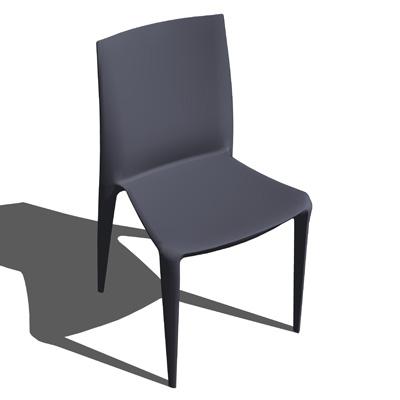 Superieur Bellini Chair 3D Model