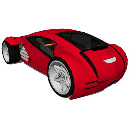 lexus 2054 concept car 3d model formfonts 3d models textures. Black Bedroom Furniture Sets. Home Design Ideas
