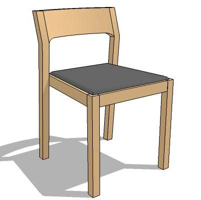 Profile Chair 3d Model Formfonts 3d Models Amp Textures