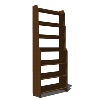 Ikea Solid Wood Bookcase From The Leksvik Range A