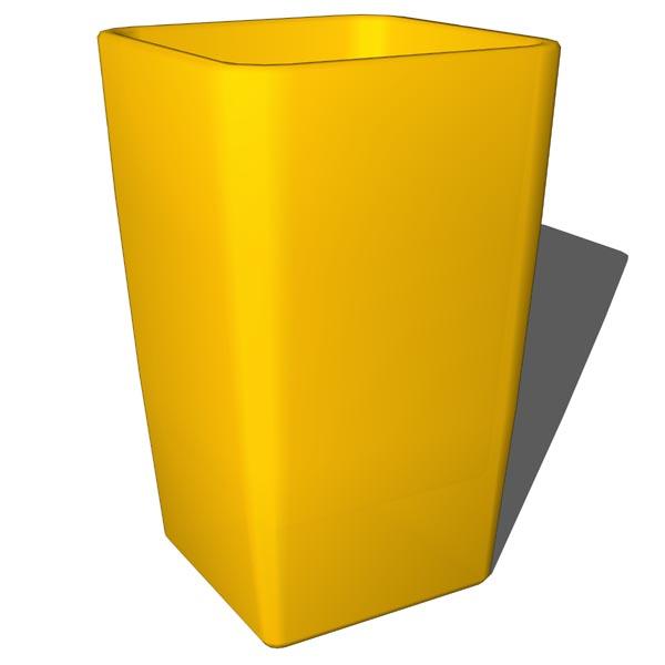 Bathroom yellow set 3D Model - FormFonts 3D Models & Textures