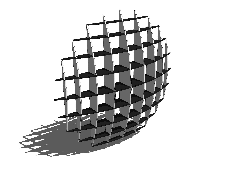 Sphere Wallcloset 3d Model Formfonts 3d Models Amp Textures