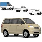 Suzuki APV (All Purpose Vehicle) is Suzuki's budge...