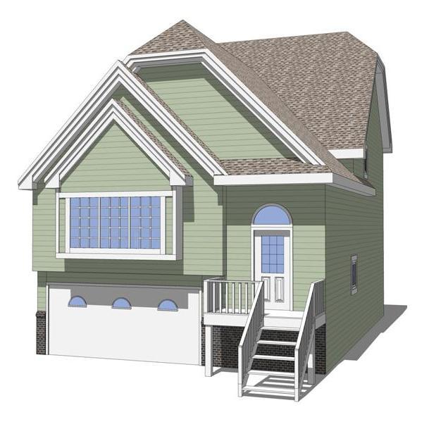 Coronado house model 3d model formfonts 3d models textures for Different models of houses