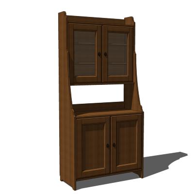 Ikea Leksvik Buffet With Cabinet 3d Model Formfonts 3d