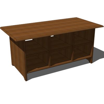 Coffee Table From The Ikea Leksvik Range Shelves