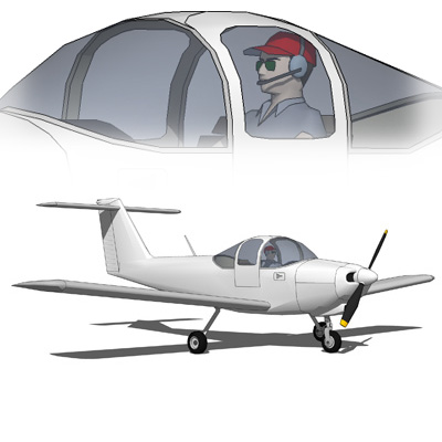 The Piper PA-38-112 Tomahawk is a two-seat, fixed ....