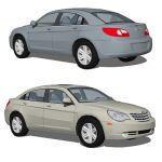 The Chrysler Sebring is a line of mid-size cars so...