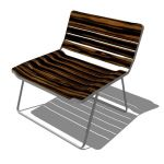 Blu Dot - Blur Lounge Chair. Springy wooden slats ...