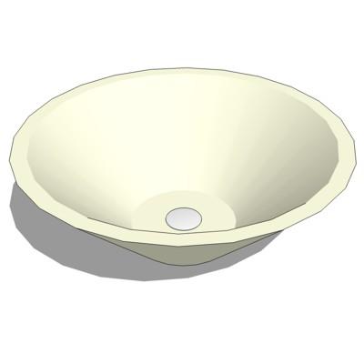 Caceres lav 3d model formfonts 3d models textures for Sketchup bathroom sink