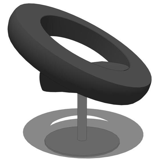 Mudloft Round Chair 3D Model