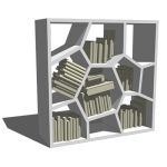 The inspiration for Opus Shelving (2000) came to d...
