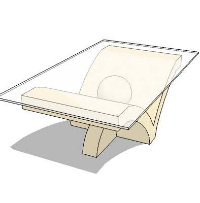 Limestone Furniture 3d Model Formfonts 3d Models Amp Textures