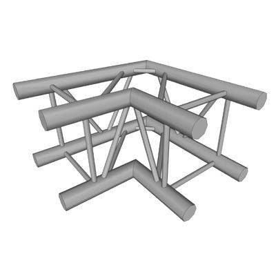 AQ2-90 3D Model - FormFonts 3D Models & Textures