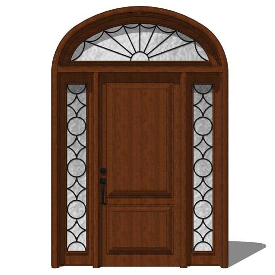 Door model 102 3d model formfonts 3d models textures for Exterior 3d model