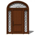 Exterior Door Model 102. There are 2 options, low ...