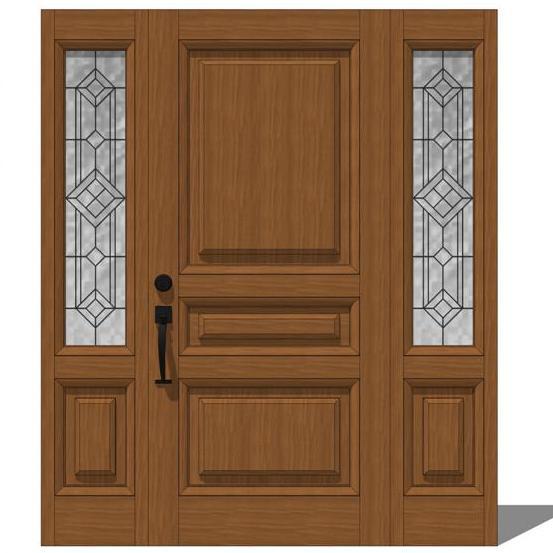 Door model 103 3d model formfonts 3d models textures for Exterior 3ds max model