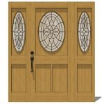 Exterior Door Model 106. There are 2 options, low ...