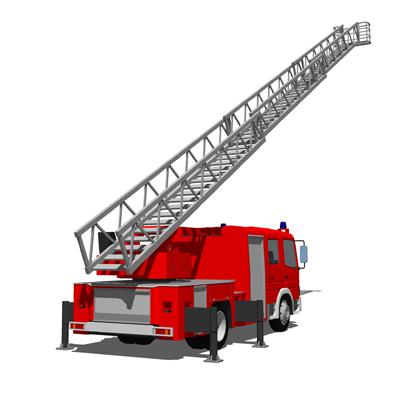 Fire Engine Fleet 3d Model Formfonts 3d Models Amp Textures