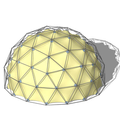 how to make a paper geodesic dome