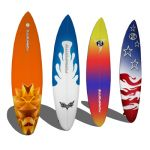 Set of 4 Surfboards