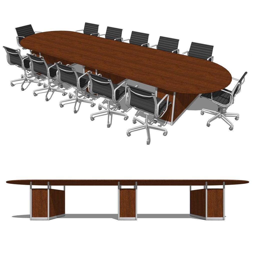 Duovo Conference Room Group D Model FormFonts D Models Textures - Conference room table mats