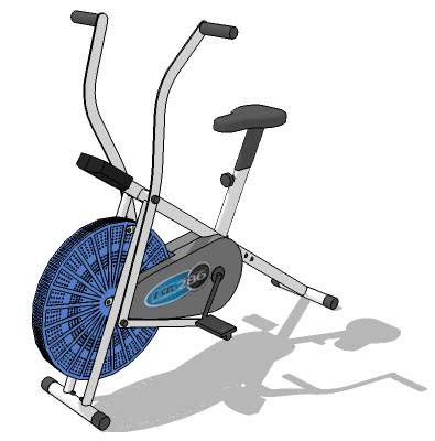 Dual action upright bike,.