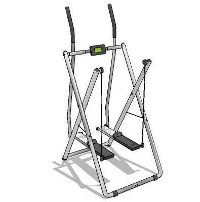 Ski Action Workout Trainer
