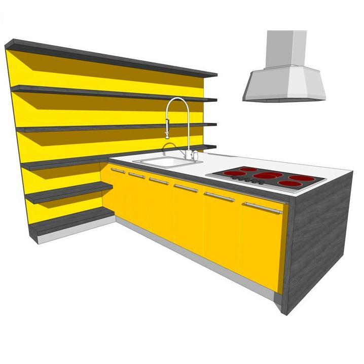 Euro Kitchen Model Formfonts Models Textures