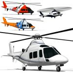 The Agusta A109 is a multi-purpose helicopter manu...