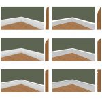 Base Moulding Set 1-4. These profiles can be pushe...