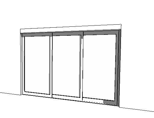 Besam Unislide Telescopic Sliding Door.  sc 1 st  FormFonts & Besam Entrance Systems 3D Model - FormFonts 3D Models u0026 Textures