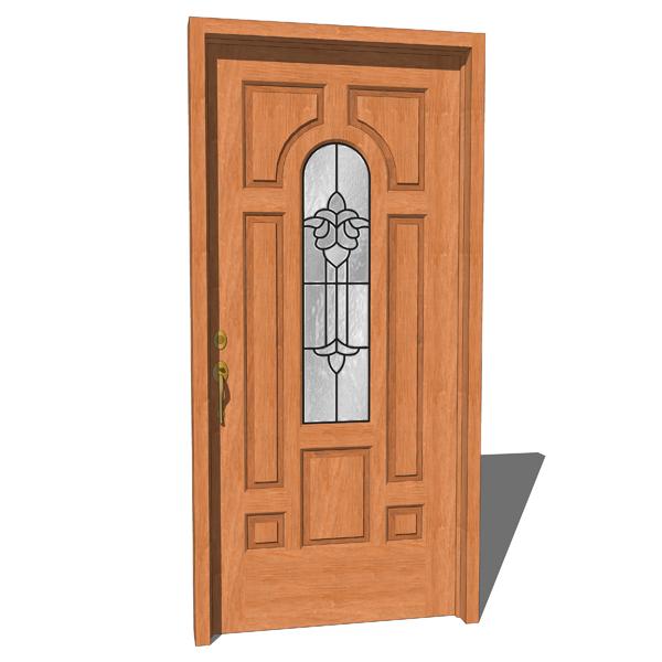 Margate Door 3d Model Formfonts 3d Models Textures
