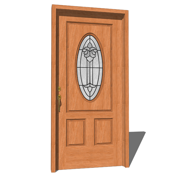 Norfolk door 3d model formfonts 3d models textures for Door models for house