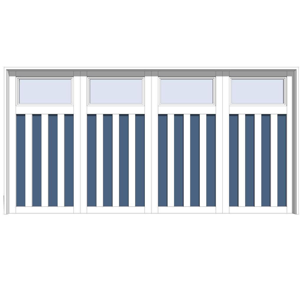 Jeld Wen Series 4 Garage Doors 3d Model Formfonts 3d Models Textures