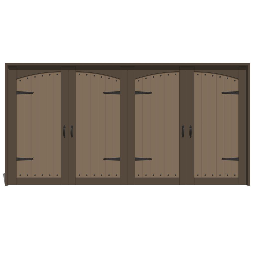 Jeld Wen Estate Series Garage Doors 3d Model Formfonts 3d Models
