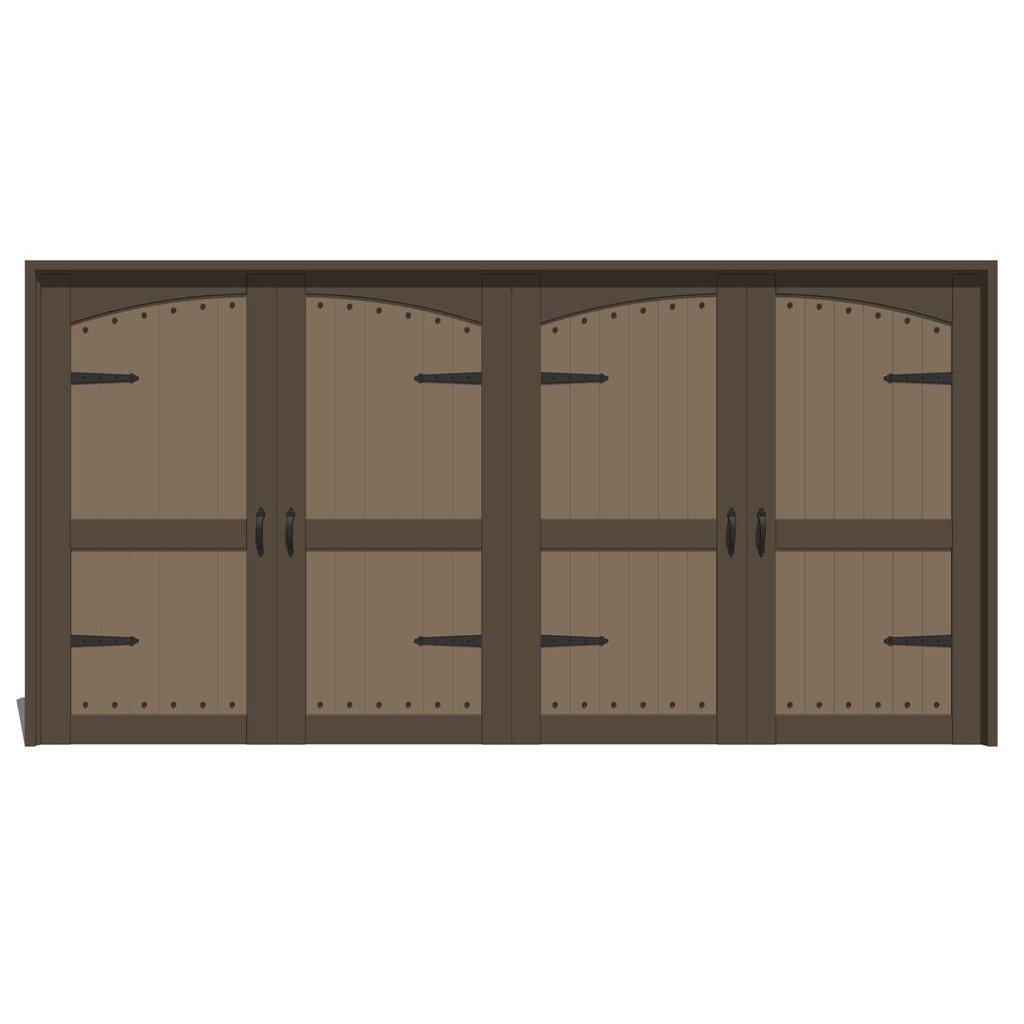 Jeld Wen Estate Series Garage Doors 2 3d Model Formfonts 3d Models