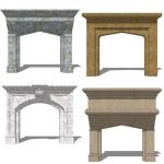 Fireplace Set 3.