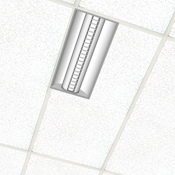 Avante recessed direct/indirect fluorescent lighti....