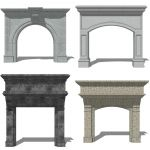 Fireplace Set 5.