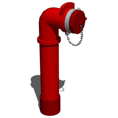 Fire Standpipe Set 3d Model Formfonts 3d Models Amp Textures